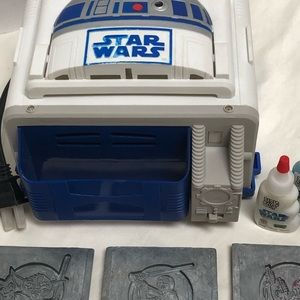 STAR WARS mold kit,  Baking unit and molds